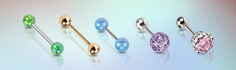 Barbell Jewelry from Hollywood Body Jewelry