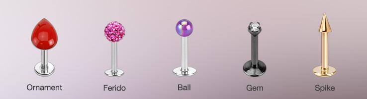 Ornament Ferido Ball Gem and Spike