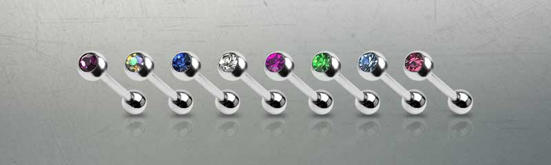 Titanium Barbells by Hollywood Body Jewelry