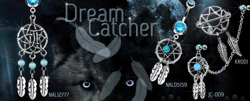 Dream Catcher by Hollywood Body Jewelry