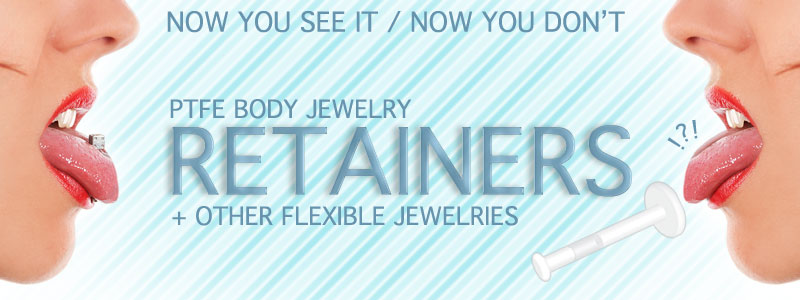 Retainers by Hollywood Body jewelry