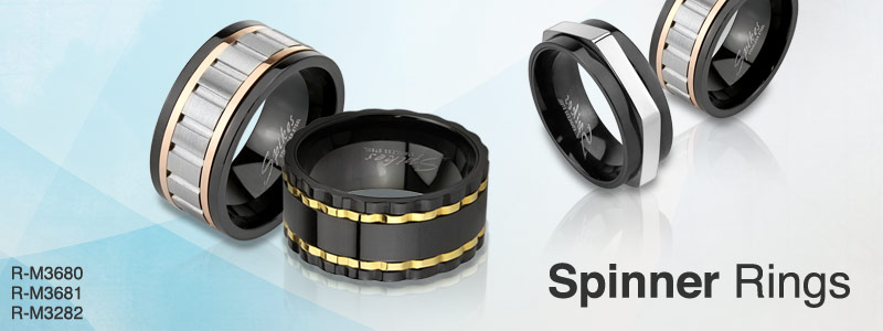 Spinner Rings by HBJ