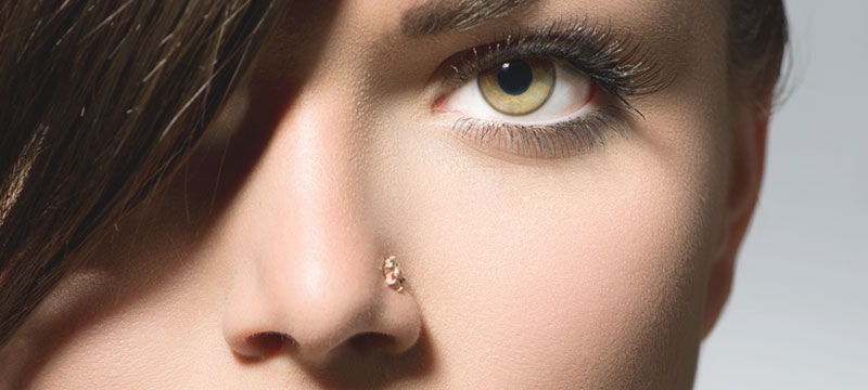 how to know if your nose piercing is healed