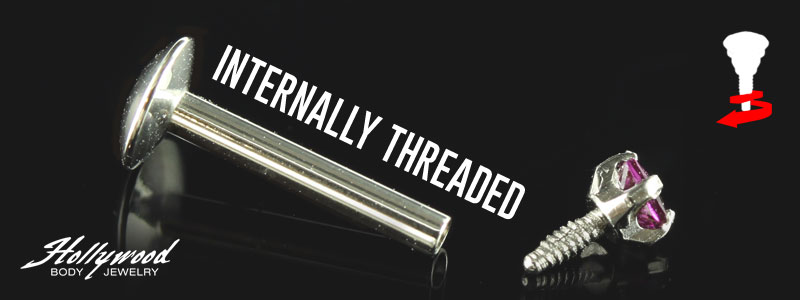 Internally Threaded by Hollywood Body Jewelry