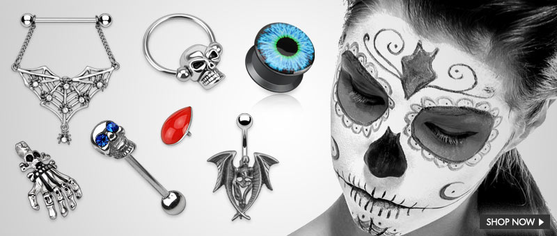 Best Sellers Halloween by Hollywood Body Jewelry