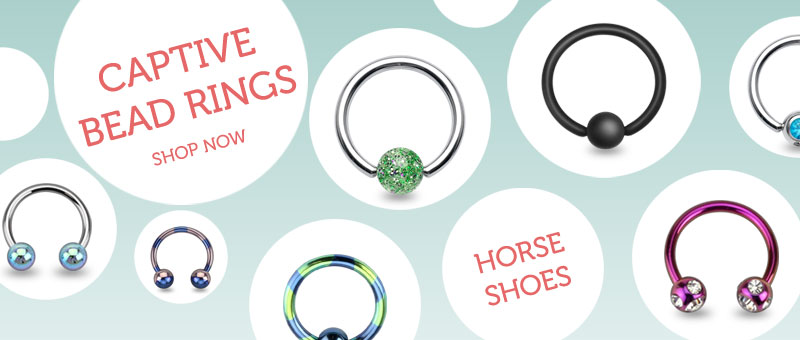 Horseshoes and Captive Bead Rings