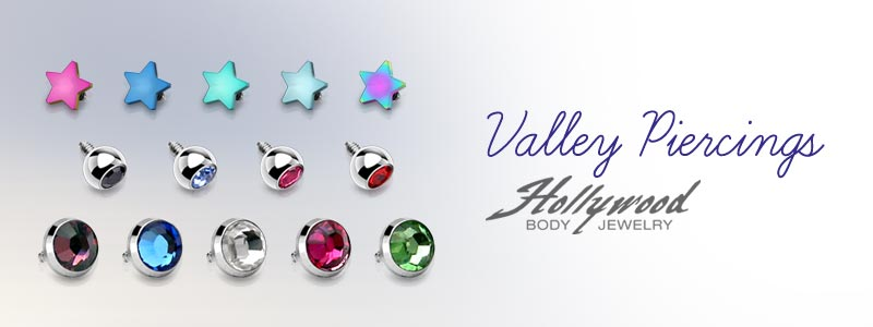 Valley Piercing by Hollywood Body Jewelry
