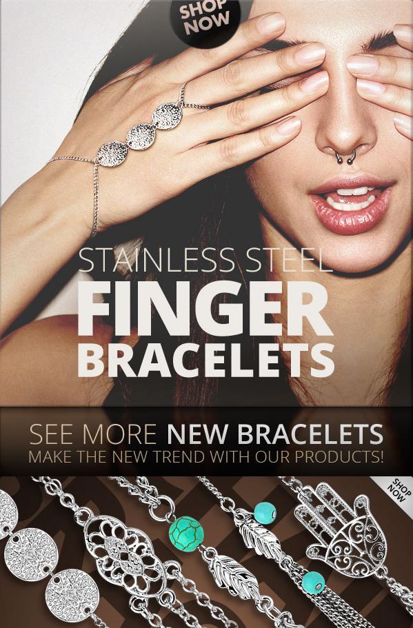 finger bracelet chain