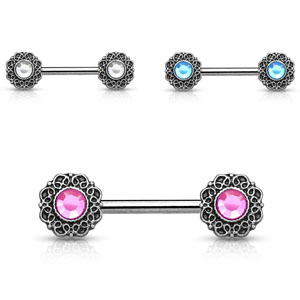Hollywood Wholesale Body Jewelry Nipple Barbell Rings