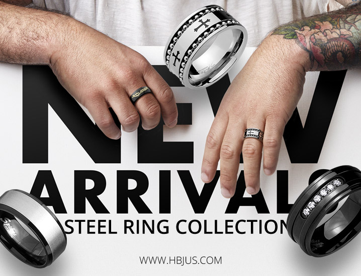 Steel Rings Collection
