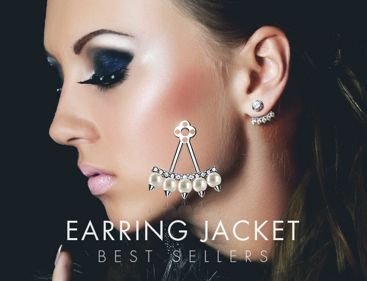 Wholesale Earring Jackets Body Jewelry