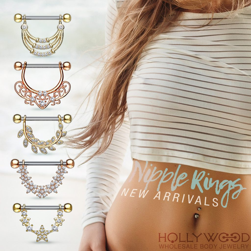 New Arrivals / Nipple Rings
